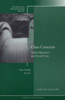 Class Concerns av Adult and Continuing Education (ACE) (Heftet)