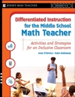 Differentiated Instruction for the Middle School Math Teacher av Joan D'Amico og Kate Gallaway (Heftet)