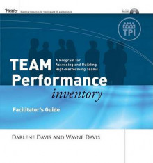 Team Performance Inventory: FG Package av Darlene Davis og Wayne R. Davis (Perm)