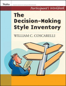 Decison-Making Style Inventory av William C. Coscarelli og DaJean Johnson (Heftet)