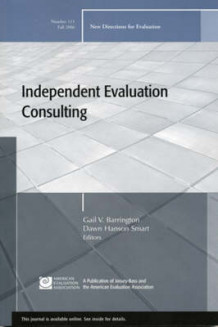 Independent Evaluation Consulting (Heftet)