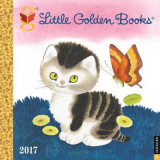 Omslag - Little Golden Books 2017 Wall Calendar