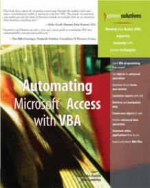 Automating Microsoft Access with VBA av Mike Gunderloy og Susan Sales Harkins (Heftet)