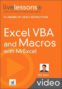 Excel VBA and Macros with MrExcel LiveLessons (Video Training) av Bill Jelen (Blandet mediaprodukt)