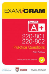 Omslag - CompTIA A+ 220-801 and 220-802 Practice Questions Exam Cram