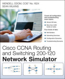 CCNA Routing and Switching 200-120 Network Simulator av Wendell Odom og Sean Wilkins (DVD-ROM)