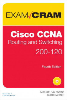 CCNA Routing and Switching 200-120 Exam Cram av Michael H. Valentine, Keith Barker og Andrew Whitaker (Blandet mediaprodukt)