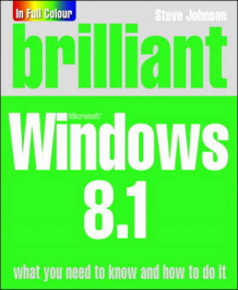 Brilliant Windows 8.1 av Perspection Inc. og Steve Johnson (Heftet)