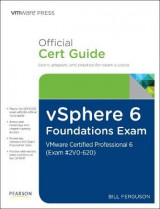 Omslag - vSphere 6 Foundations Exam Official Cert Guide