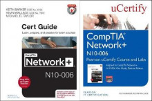Comptia Network+ N10-006 Pearson Ucertify Course and Labs and Textbook Bundle av Keith Barker (Blandet mediaprodukt)
