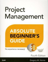 Omslag - Project Management Absolute Beginner's Guide