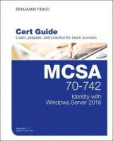 Omslag - MCSA 70-742 Cert Guide: Identity with Windows Server 2016