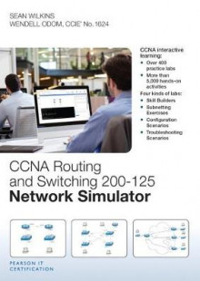 CCNA Routing and Switching 200-125 Network Simulator av Sean Wilkins og Wendell Odom (DVD-ROM)