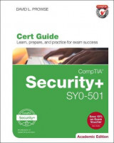 Omslag - CompTIA Security+ SYO-501 Cert Guide, Academic Edition