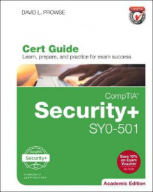 CompTIA Security+ SYO-501 Cert Guide, Academic Edition av David L. Prowse (Blandet mediaprodukt)