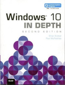 Windows 10 In Depth (includes Content Update Program) av Brian Knittel og Paul McFedries (Heftet)