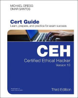 Omslag - Certified Ethical Hacker (CEH) Version 10 Cert Guide