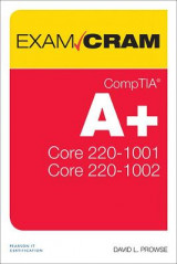 Omslag - CompTIA A+ Core 1 (220-1001) and Core 2 (220-1002) Exam Cram