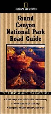 """National Geographic"" Road Guide to Grand Canyon av Jeremy Schmidt (Heftet)"