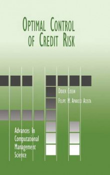 Optimal Control of Credit Risk av Didier Cossin og Felipe M. Aparicio (Innbundet)
