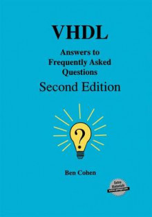 VHDL Answers to Frequently Asked Questions 1998 av Ben Cohen (Innbundet)