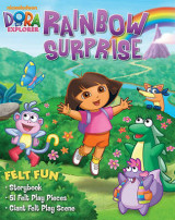 Omslag - Dora the Explorer Rainbow Surprise