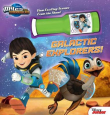 Disney Miles from Tomorrowland: Galactic Explorers! av Disney (Innbundet)