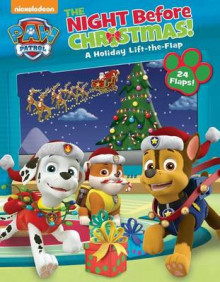 Paw Patrol: The Night Before Christmas av Nickelodeon (Pappbok)