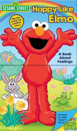 Omslag - Sesame Street: Happy Like Elmo/Grouchy Like Oscar