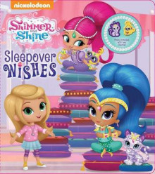 Shimmer and Shine: Sleepover Wishes av Nickelodeon (Pappbok)
