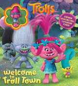 Omslag - DreamWorks Trolls: Welcome to Troll Town