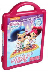 Omslag - Shimmer and Shine: What's Your Wish?: Book & Magnetic Playset