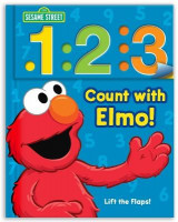 Omslag - Sesame Street: 1 2 3 Count with Elmo!