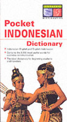 Pocket Indonesian Dictionary av Zane Goebel (Heftet)