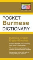 Omslag - Pocket Burmese Dictionary
