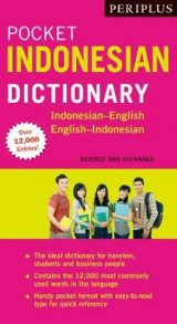 Omslag - Periplus Pocket Indonesian Dictionary