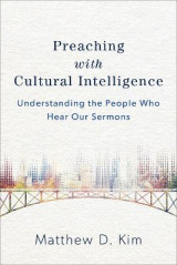 Omslag - Preaching with Cultural Intelligence
