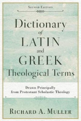 Omslag - Dictionary of Latin and Greek Theological Terms