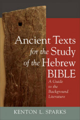 Omslag - Ancient Texts for the Study of the Hebrew Bible