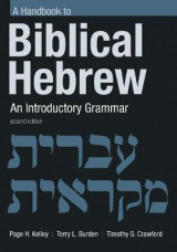 Omslag - Handbook to Biblical Hebrew