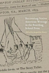 Omslag - Recovering Native American Writings in the Boarding School Press
