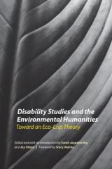 Omslag - Disability Studies and the Environmental Humanities