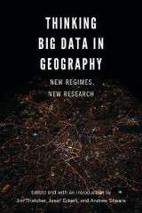 Omslag - Thinking Big Data in Geography