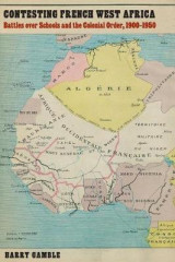 Omslag - Contesting French West Africa