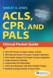 Acls, CPR, and Pals : Clinical Pocket Guide av Jones (Heftet)