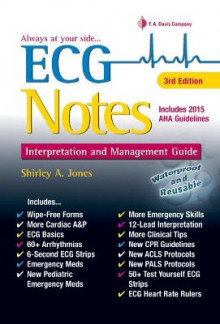 ECG Notes Interpretation & Mgmt Guide 3e av Jones (Heftet)