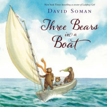 Three Bears in a Boat av David Soman (Innbundet)