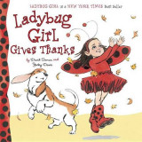 Omslag - Ladybug Girl Gives Thanks