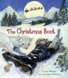 The Christmas Boot av Lisa Wheeler (Innbundet)