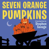 Omslag - Seven Orange Pumpkins Board Book